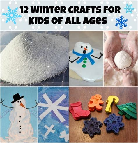 winter crafts for to make 12 winter crafts for of all ages