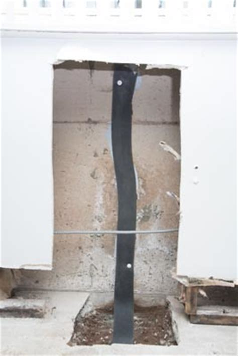 repair leaking basement flexispan repair for leaking basement walls repair