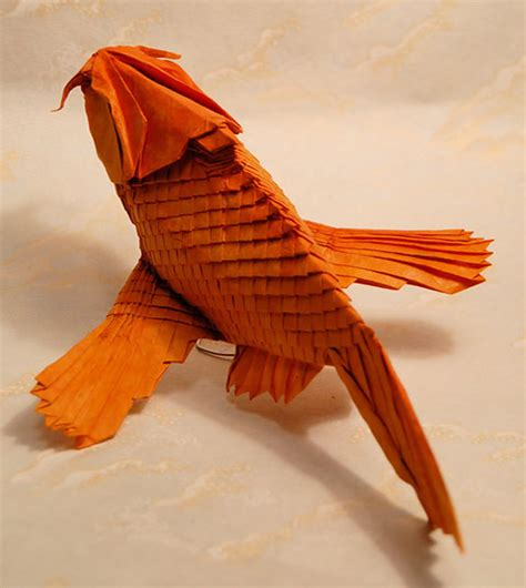 professional origami made from everyday stationery products