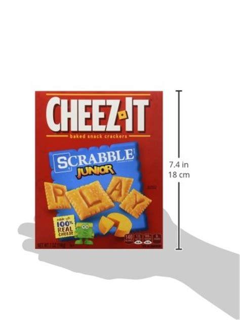 cheez it scrabble galleon baked snack crackers cheez it scrabble