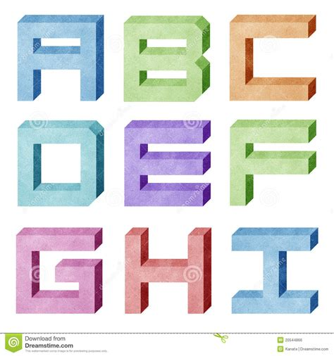 paper craft letters alphabet number recycled paper craft royalty free stock