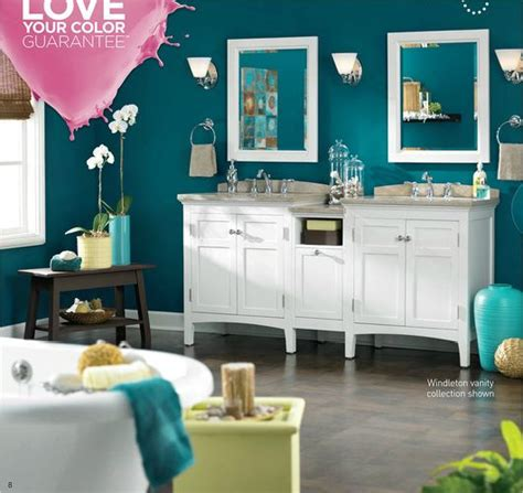 paint colors for bedrooms lowes lowes valspar paint ad the wall color is teal 5010