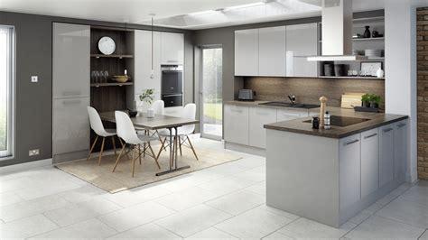 light gray kitchens technica gloss light grey kitchen modern kitchens with