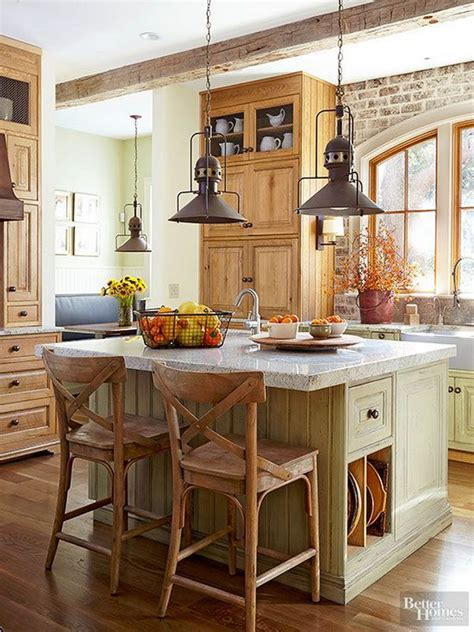 rustic kitchen design ideas 30 awesome kitchen lighting ideas 2017