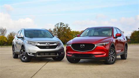 Mazda Cx 5 Compared To Honda Crv honda cr v vs mazda cx 5 the and the of suvs
