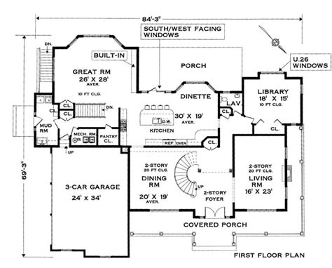 colonial house floor plans five bedroom colonial house plan