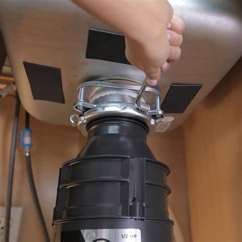 kitchen sink garbage disposal installation how to install a garbage disposal