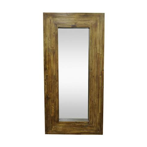 home decorators mirror home decorators collection palmer leaner brown framed wall