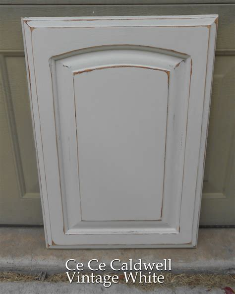 how to distress white kitchen cabinets using chalk paint for oak kitchen cabinets test door