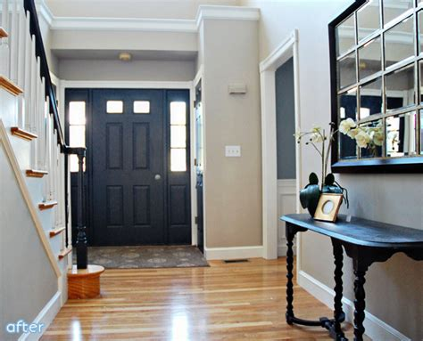 painting the front door of your house painting the inside of your front door is an instant and