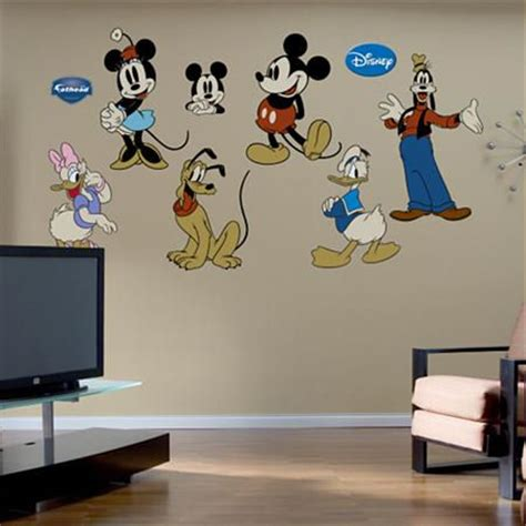 wall stickers outlet mickey mouse stickers for walls home design