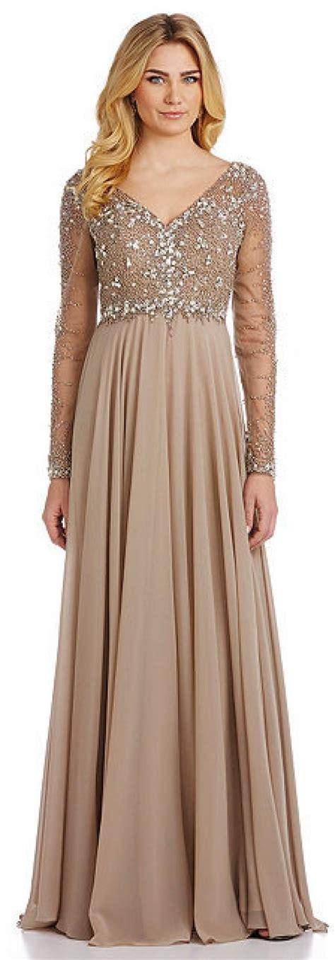 beaded chiffon dress terani couture beaded chiffon gown 2317124 weddbook