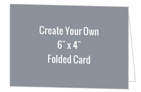 make your own card free create your own 6x4 folded card create your own cards
