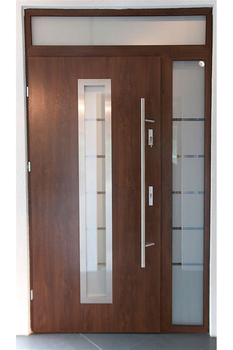 steel exterior door quot madrid quot stainless steel exterior door with sidelights