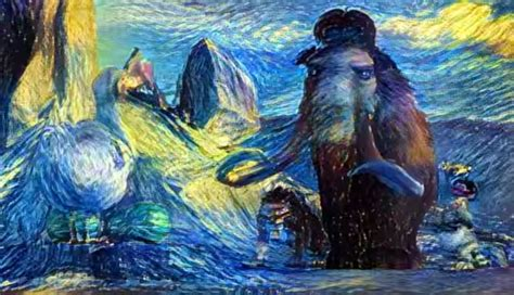 paint nite age computer algorithm turns into living goghs d