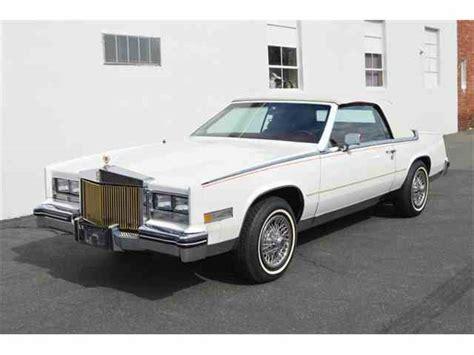 85 Cadillac Eldorado For Sale by 1985 To 1987 Cadillac Eldorado For Sale On Classiccars