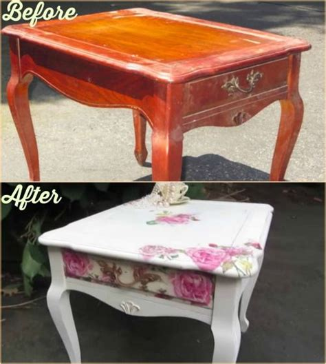 decoupage end table 25 best ideas about decoupage coffee table on