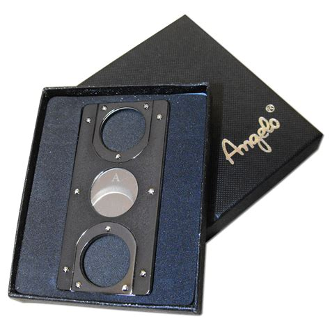 card cutters credit card style cigar cutter gunmetal