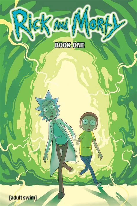 rick and morty book 1 hardcover graphic novels reed comics