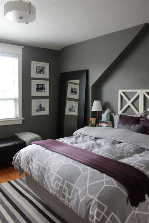 gray and purple bedroom best 25 purple gray bedroom ideas on color