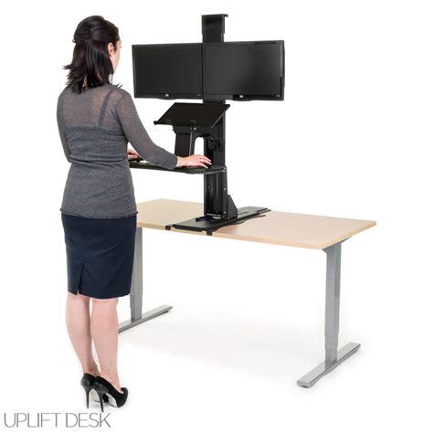 uplift standing desk shop uplift standing desk converters