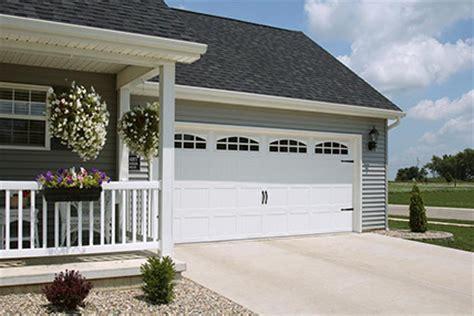 garage door to house chi carriage house garage door models 5216 and 5916