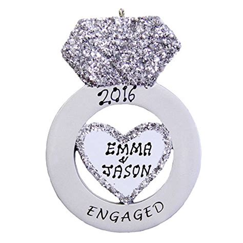 ornament engagement lovely engagement tree ornaments it s