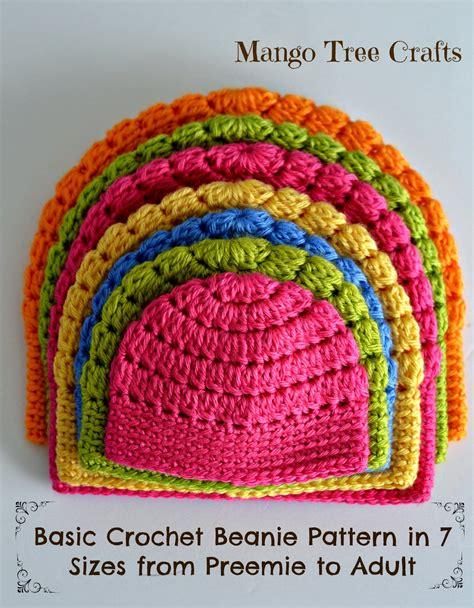 www coatsandclark crafts crochet projects mango tree crafts free basic beanie crochet pattern all sizes