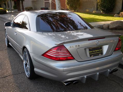 2003 Mercedes Cl55 Amg by 2003 Mercedes W215 Cl55 Amg 620hp Benztuning