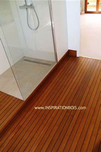 parquet de salle de bain en teck plancher pont de bateau en teck parquet de piscine d