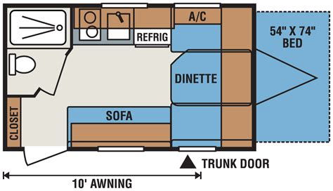 travel trailers floor plans travel trailer floor plans micro floor plans palomino