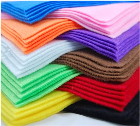cloth crafts for a4 felt fabric sheets for arts and crafts many colours