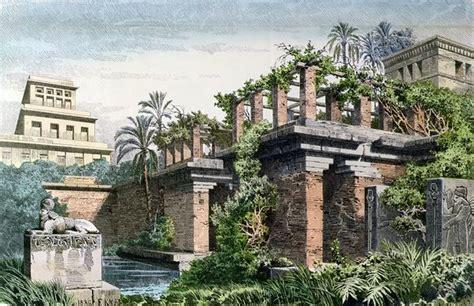 Garden Of Iraq The Hanging Gardens Of Babylon Shed Garden