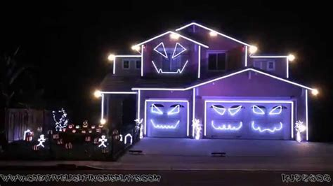 lights singing house light show 2014 jump around house of