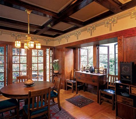 arts and crafts homes interiors wallpaper for arts crafts homes house house