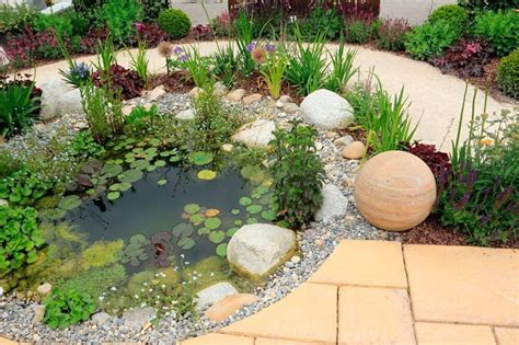 garden bed rocks 32 backyard rock garden ideas