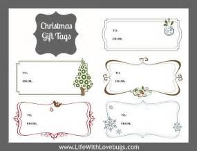 gift labels print free gift tags printable with lovebugs