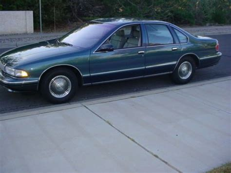automobile air conditioning repair 1996 chevrolet caprice classic transmission control buy used 1996 chevy caprice classic 5 7 lt1 1 owner 1913 actual miles in albuquerque new mexico