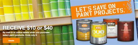 home depot paint mail in rebate ralph paint rebate mega deals and coupons