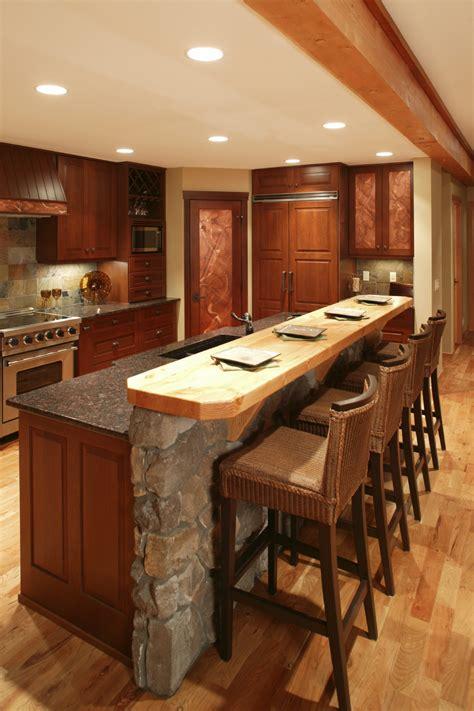 kitchen islands with bar 84 custom luxury kitchen island ideas designs pictures