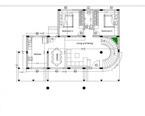 floor plans with spiral staircase gap between spiral staircase and wall corner