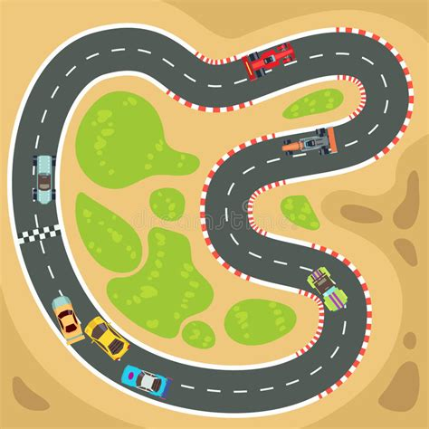 Car Apps For Computer by Racing Computer And App Vector Background With Top