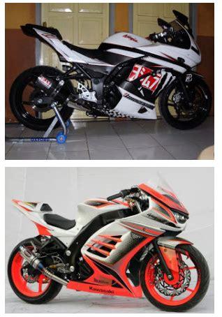 Sepeda Modifan by Kumpulan Gambar Modifikasi Kawasaki 250 Otomotif