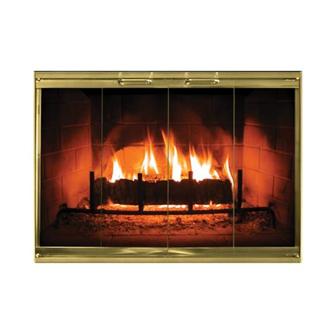 fireplace glass calloway masonry fireplace doors in color options