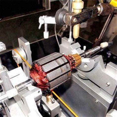 Electric Motor Balancing by Horizontal Balancing Machine For Electric Armature Used