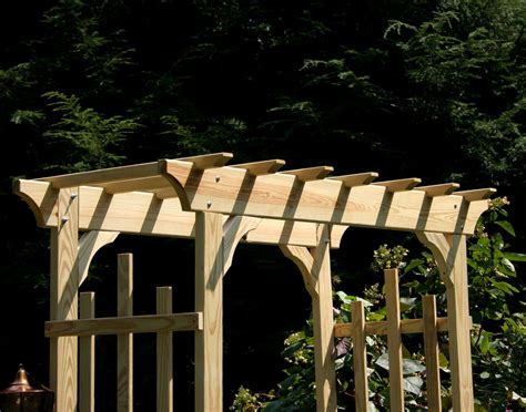 Pergola Swings treated pine rose arbor pergola