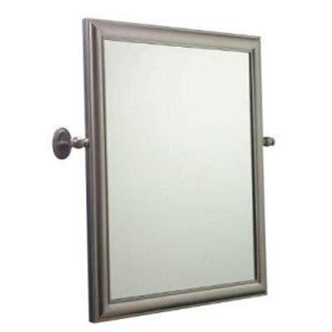 home depot bathroom vanity mirrors home innova antique rope pivoting vanity mirror