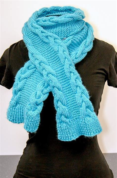 free easy cable scarf knitting patterns 482 best scarf cowl knitting patterns images on