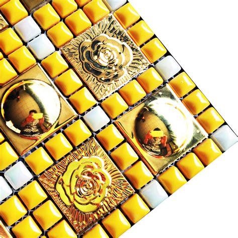 kitchen wall tile patterns gold metal wall tiles kitchen backsplash stainless steel