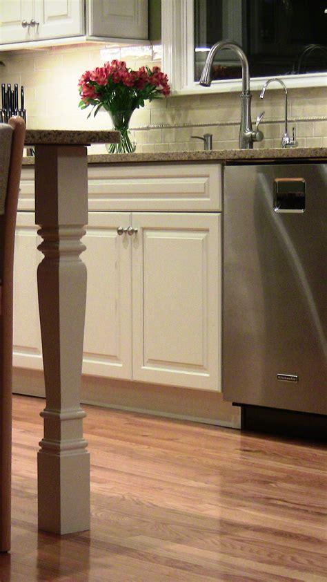 kitchen island leg square island legs for contemporary kitchen osborne wood